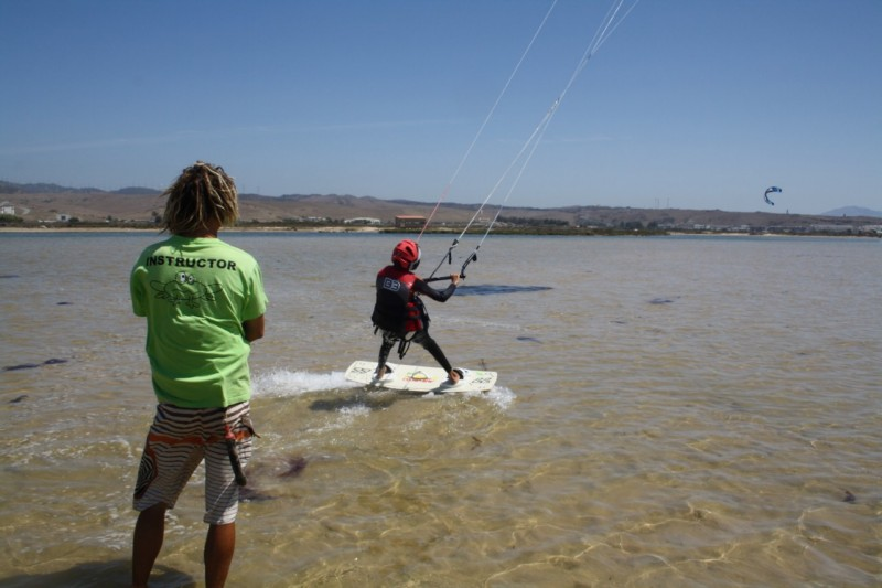 children kitesurf course tarifa spain